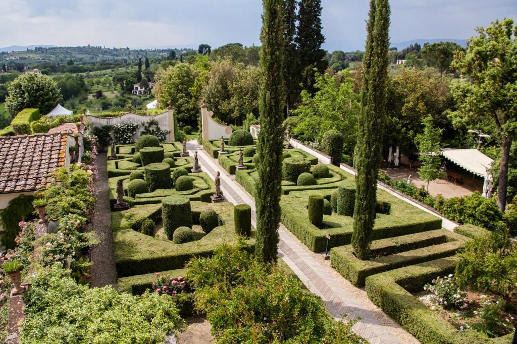 italian garden style