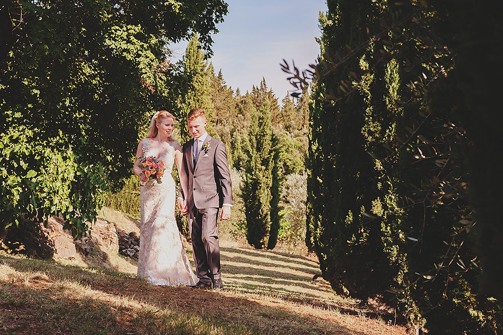 romantic wedding in Tuscany - Wide Angle Drama