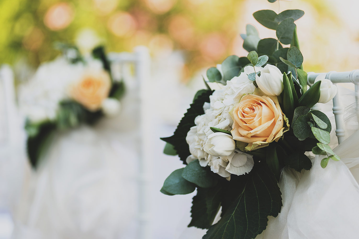 Romantic Themed Wedding Decor